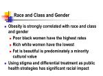 race and class and gender