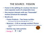 the source fission
