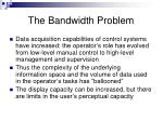 the bandwidth problem