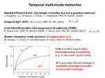 temporal multi mode memories