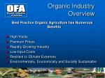 organic industry overview3