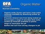 organic matter1