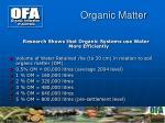organic matter4
