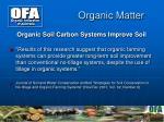organic matter6