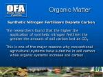 organic matter8