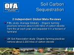 soil carbon sequestration