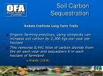 soil carbon sequestration1