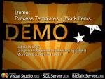 demo process templates work items
