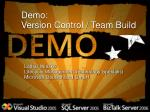 demo version control team build