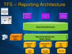 tfs reporting architecture