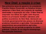 new deal a rea o crise