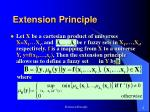 extension principle