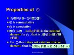 properties of1