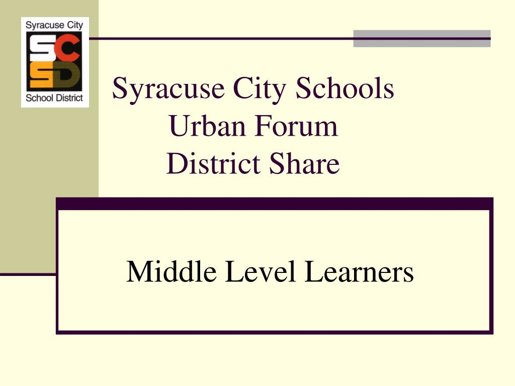 syracuse city schools urban forum district share l.