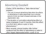 advertising goodwill