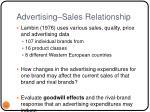 advertising sales relationship