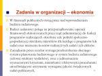 zadania w organizacji ekonomia3