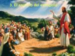 3 el anuncio del evangelio