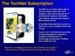 the technet subscription