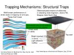 trapping mechanisms structural traps