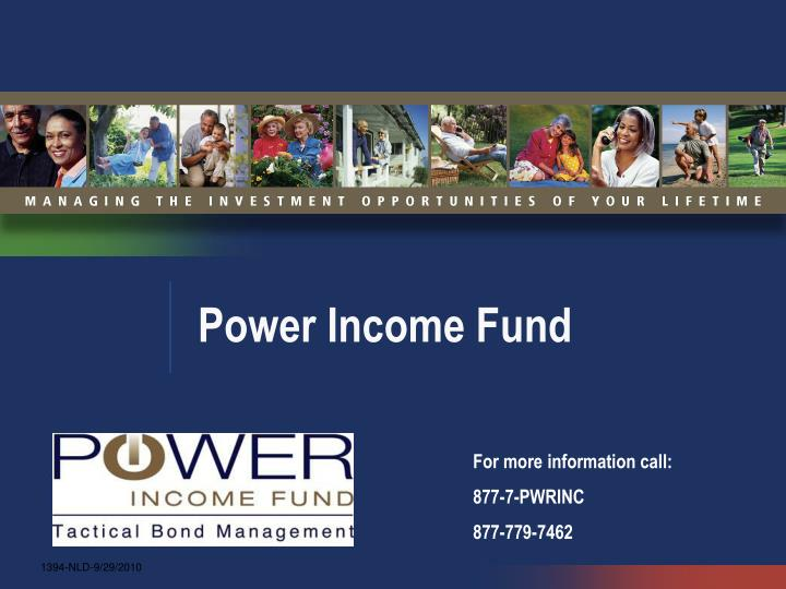 power income fund n.