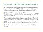 smart scholars echs webinar overview of the rfp eligibility requirements