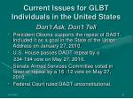 current issues for glbt individuals in the united states15