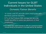 current issues for glbt individuals in the united states9