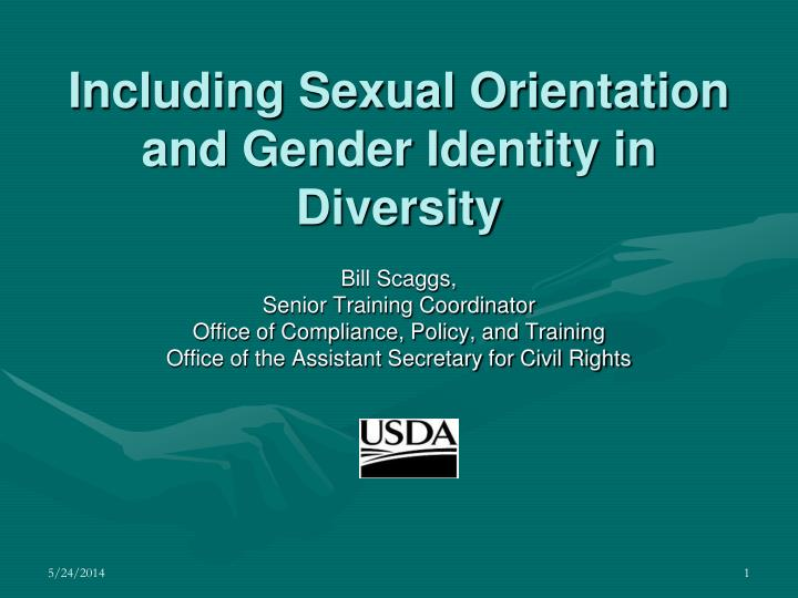 including sexual orientation and gender identity in diversity n.