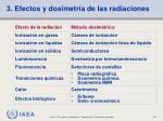 3 efectos y dosimetr a de las radiaciones