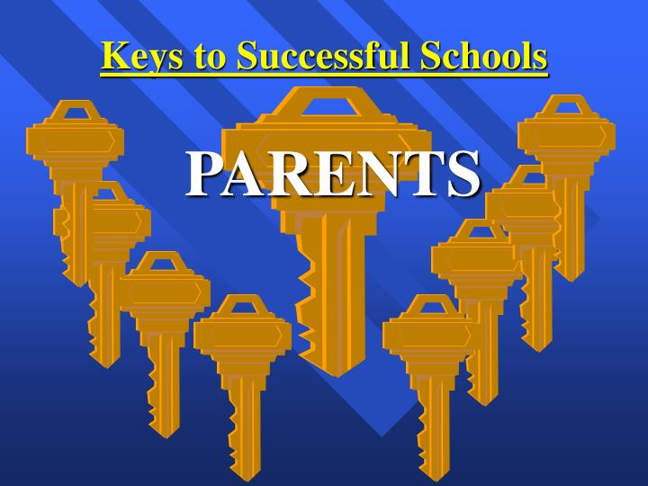 Keys to successful schools