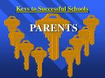 keys to successful schools