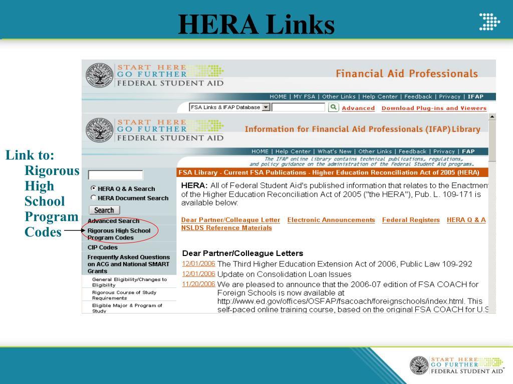 HERA Links