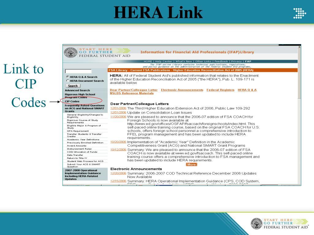 HERA Link