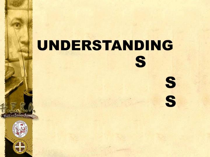 understanding s s s n.