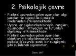 2 psikolojik evre