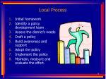 local process