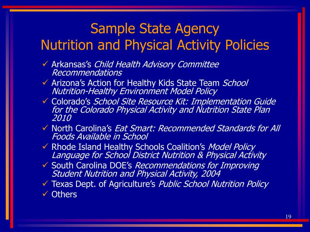 Sample State Agency