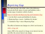 repricing gap