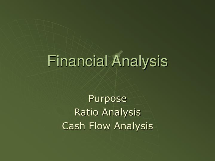financial analysis n.