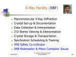 x ray facility xrf