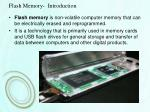 flash memory introduction