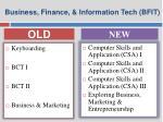 business finance information tech bfit