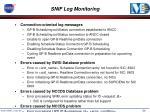 snif log monitoring
