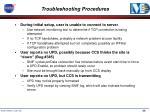 troubleshooting procedures