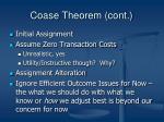 coase theorem cont