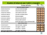 analisi di bilancio per indici e margini14