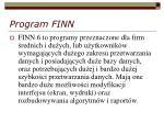 program finn