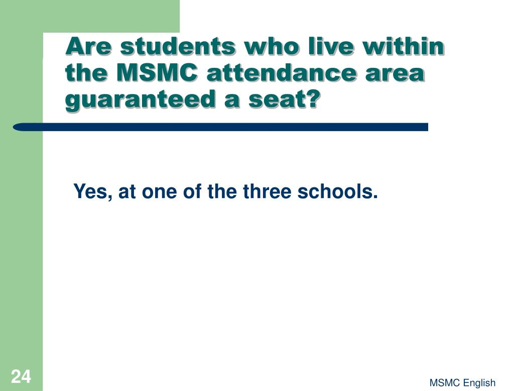 Are students who live within