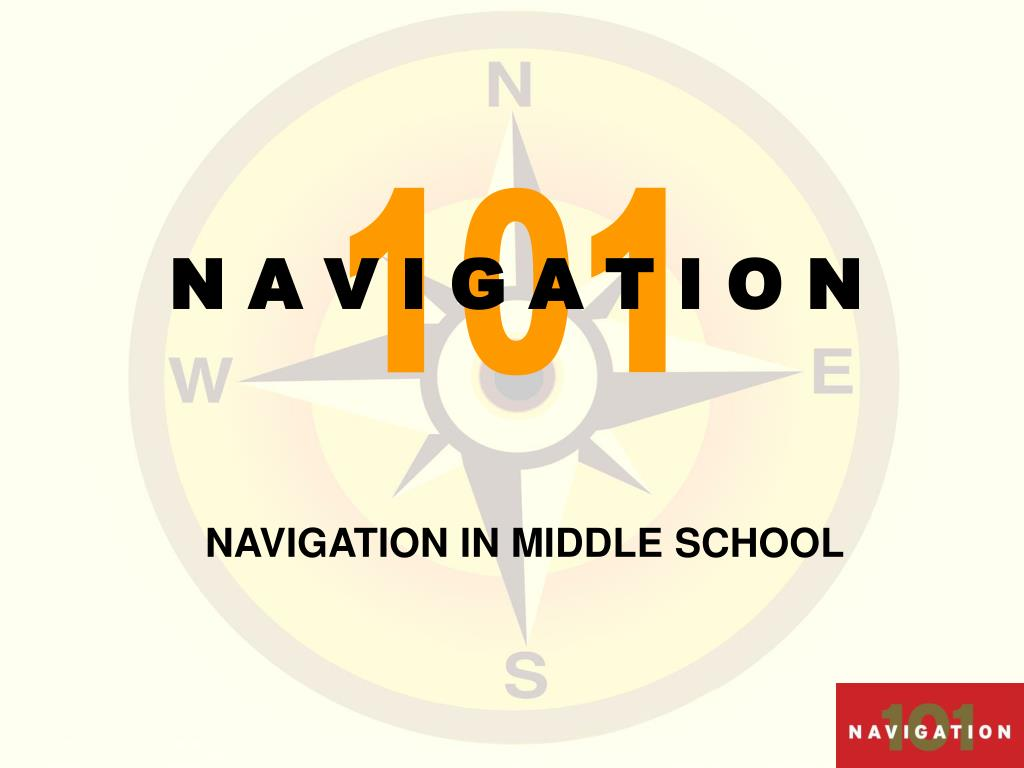 navigation in middle school l.